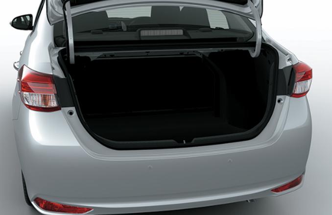 Khoang hành lý Toyota Vios 1.5G CVT 2019