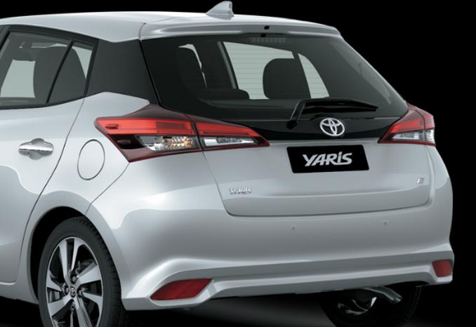 Đuôi xe Toyota Yaris G CVT 2019