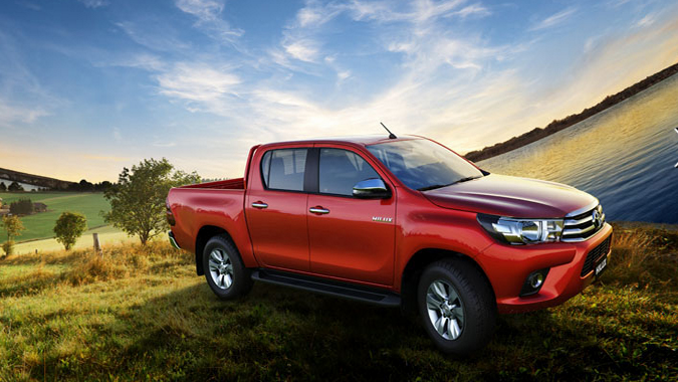 Giá xe Toyota Hilux 2.8G 4x4 AT 2019