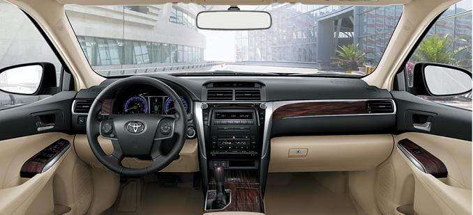 Thiết kế nội thất Toyota Camry 2019 có nhiều điểm mới
