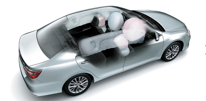 Toyota Camry 2019 trang bị nhiều tính năng an toàn