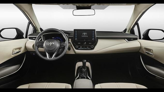 Nội thất Toyota 2020 Altis được đánh giá cao
