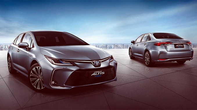 """Toyota 2020 đã thay đổi cho mẫu Corolla Altis của mình trở nên """"nóng bỏng"""""""