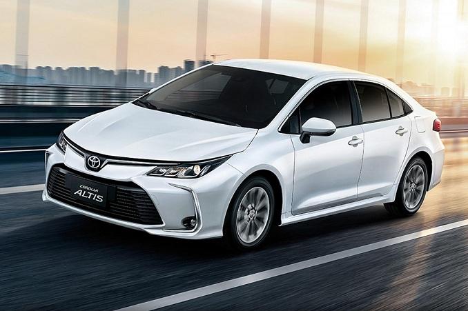 Những thay đổi về ngoại thất xe Toyota Corolla Altis 2020