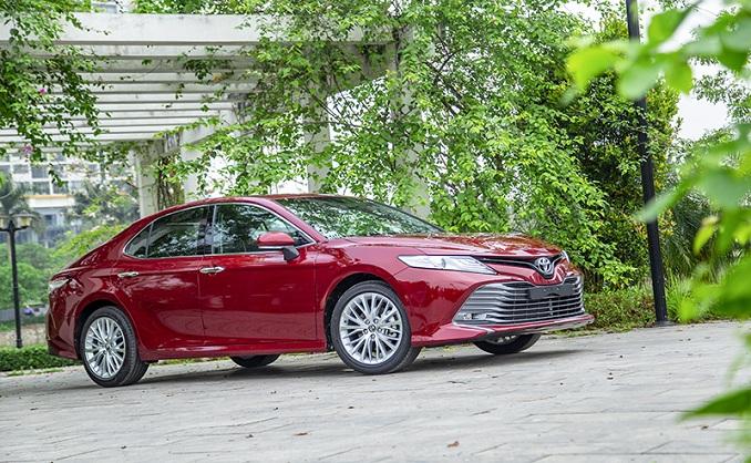 Toyota Camry 2019 phiên bản 2.5Q được nhập khẩu từ Thái lan