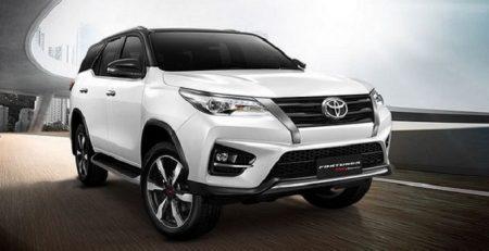 Toyota Fortuner 2.7 4x4 phiên bản 2020