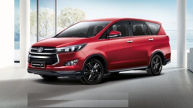 Toyota Innova 2020 thay đổi ngoại hình ấn tượng