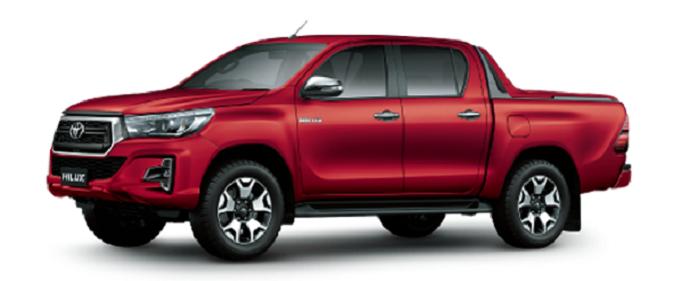 Thiết kế Toyota Hilux 2020 sang trọng