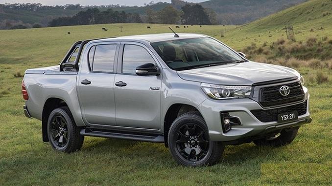 Xe bán tải Toyota HiLux thế hệ mới