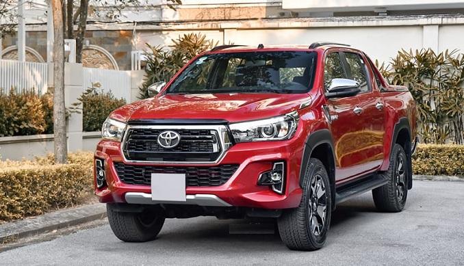 Hệ thống an toàn trên Toyota Hilux 2020 được nâng cấp